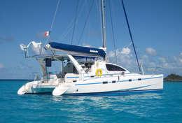 Catamaran Léopard 42 à Saint-Florent