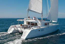 Catamaran Lagoon 450 sous voile