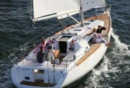 Océanis 37 en navigation à la voile