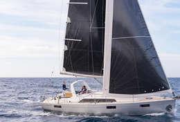 Oceanis 41.1 en navigation en Sicile