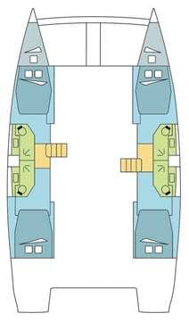 Plan catamaran Bali 4.5