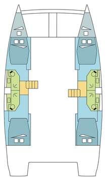 Plan catamaran Bali 45
