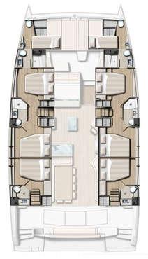 Plan catamaran Bali 5.4