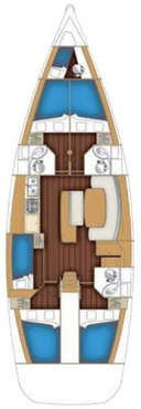 Plan Voilier Cyclades 50.5
