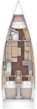 Plan Dufour 412 GL