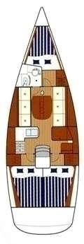 Plan voilier First 36.7 à Lorient