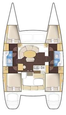 Plan Lagoon 380