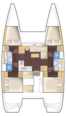 Plan Lagoon 39