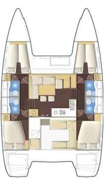 Catamaran Lagoon 400 - Le Marin
