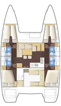 Plan Lagoon 400