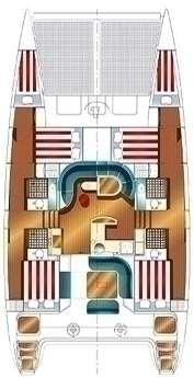 Catamaran Nautitech 47 - Grèce