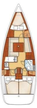 Plan voilier Océanis 37