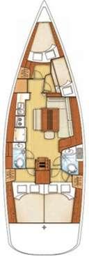 Voilier Océanis 43 - Porto Colom