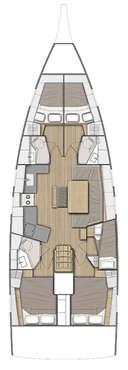 Plan Oceanis 46.1