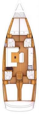 Plan Voilier Sun Odyssey 469