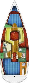 Plan Sun Odyssey 32