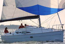 Balade en mer sur le Sun Odyssey 32