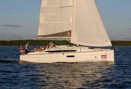 Sortie en mer en famille voilier Sun Odyssey 349
