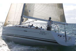 Voilier First 40 en navigation en Martinique