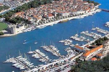 Marina ACI Trogir en Croatie
