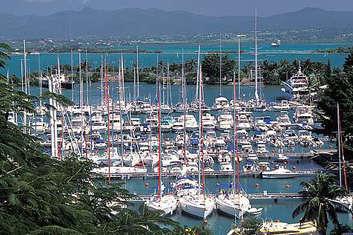 Marina Bas du Fort en Guadeloupe