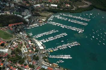 Marina le Marin en Martinique