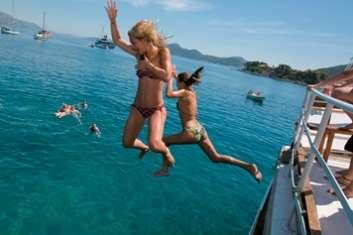 Croisière à la cabine en goélette en Croatie
