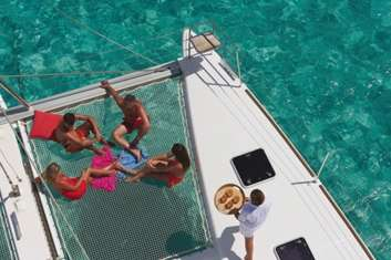 Croisière à la cabine aux Tobago Cays