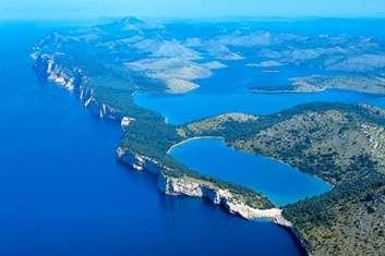 Destination Croatie Dalmatie nord location bateau