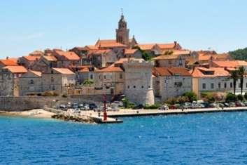 Destination Croatie Dalmatie sud location bateau