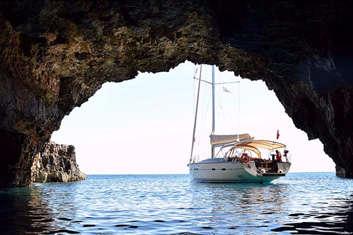 Grotte Bleue en Croatie