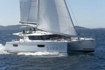 Catamaran luxueux Saba 50 à Trogir